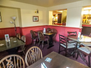 Fox & Goose Coombe Bissett Interior Dining Layout
